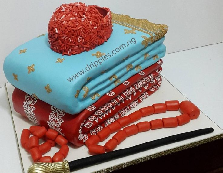 Nigerian Traditional Wedding Cakes By Dripples Cakes