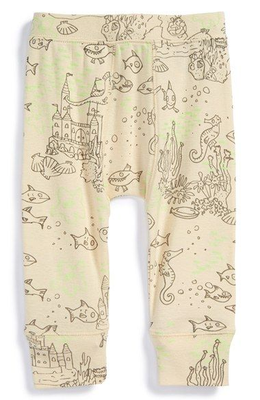 Free shipping and returns on Stella McCartney Kids Aquatic Print Organic Cotton Pants (Baby Boys) at Nordstrom.com. A fanciful aquatic print enlivens comfy organic-cotton pants topped with a stretchy elastic waistband.