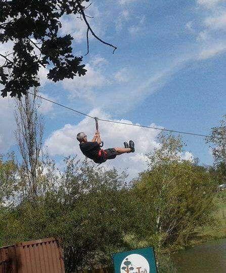 Zipline at TreeTop Advetures