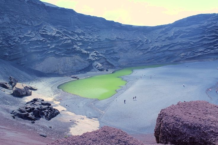 Lago Verde #lanzarote