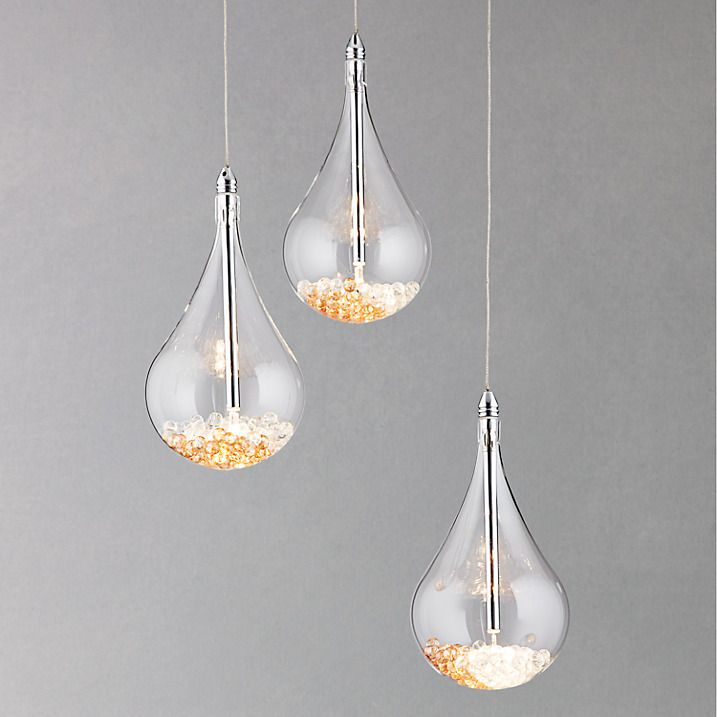 Buy John Lewis Sebastian 3 Light Drop Ceiling Online At Johnlewis