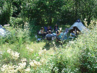 La Crèche: camping, appartement, b&b in de Vogezen, Frankrijk: De camping