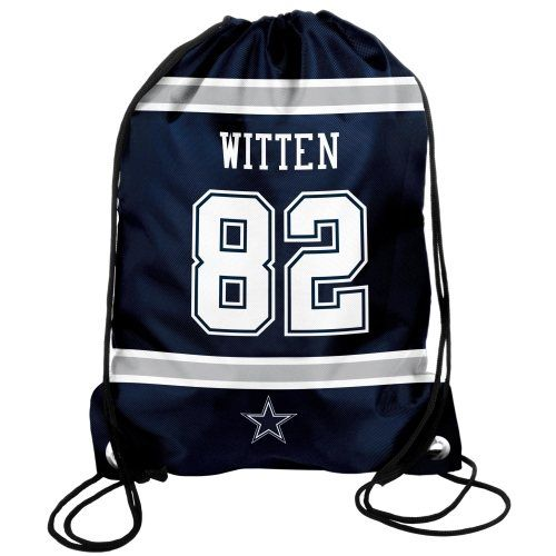 Jason Witten Dallas Cowboys Player Drawstring Backpack - Navy Blue