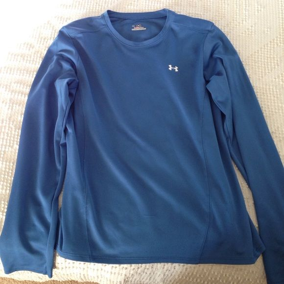 Under Armour Long Sleeve Shirt Dri Fit Medium Under