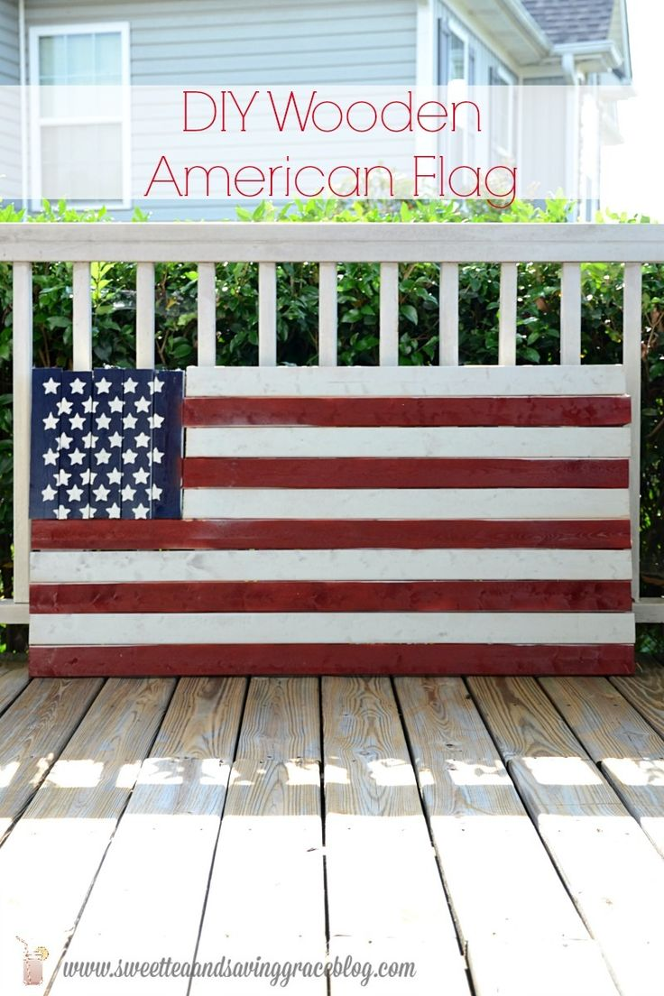 ideas about Wooden American Flag on Pinterest