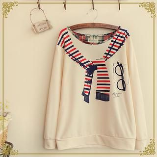 Buy 'Fairyland – Print Long-Sleeve Top' with Free International Shipping at YesStyle.com. Browse and shop for thousands of Asian fashion items from China and more!