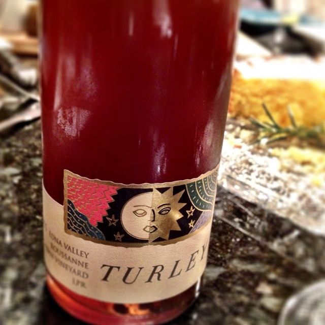 2004 Late pick Roussanne from Turley with Noble Rot