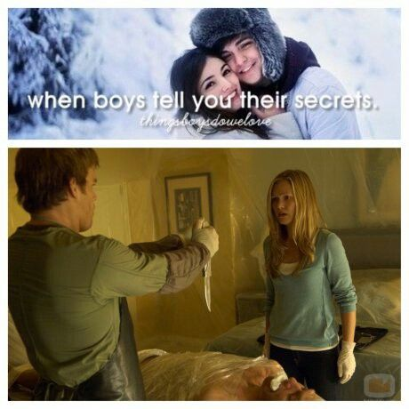 i laughed so hard... ahh dexter...