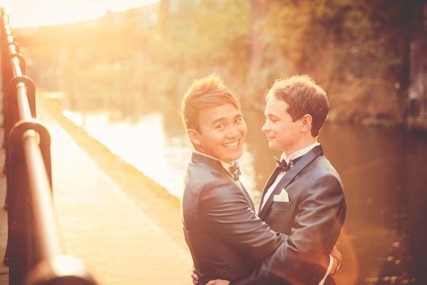 LGBT wedding inspiration | Gay wedding | photo by Sanshine Photography www.sanshinephotography.com