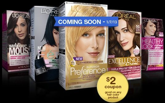 Coupons For Loreal Hair Color - http://haircolorideasforyou.com/coupons-for-loreal-hair-color