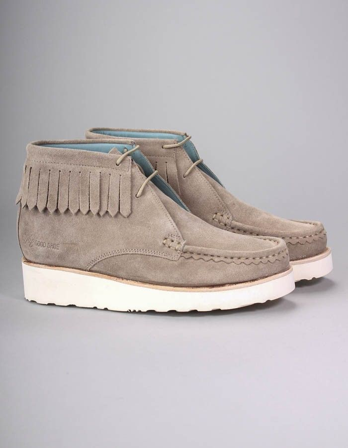 Grenson Taupe Chukka Boots | Accent Clothing
