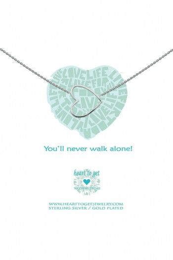 Heart to Get ketting Heart N35BHE12S | JewelandWatch.com