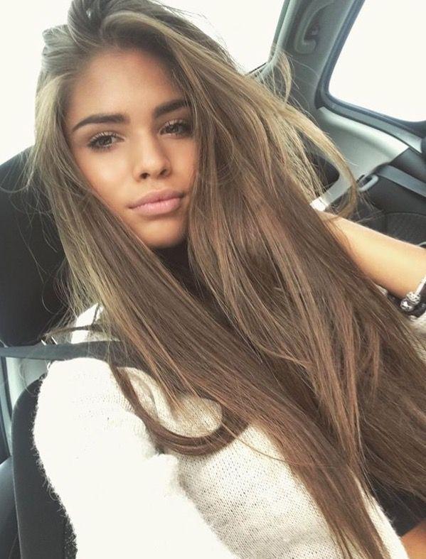 18 hellbraune Haarfarbe für coolen und charmanten Look