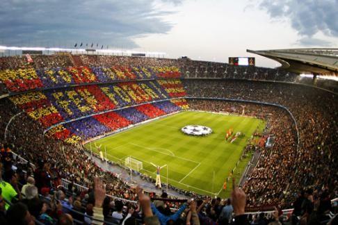 Barcelona F.C. Nou Camp Stadium Tour