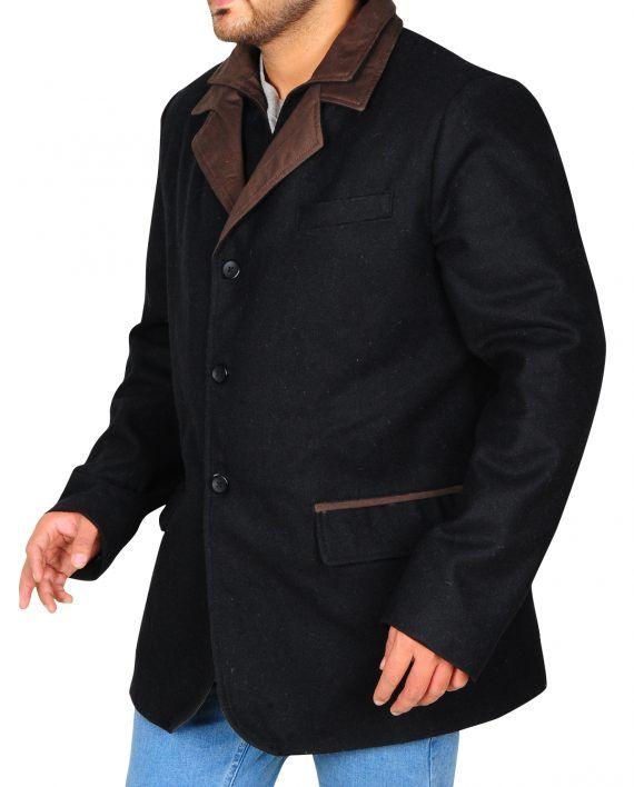 Blood & Oil Hap Briggs Elegant Black Coat