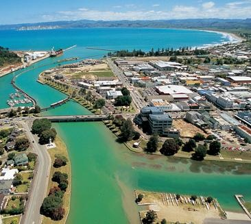 Gisborne, first city in the world to see the new day.