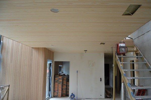 kvistfri furu i tak og moderne hus - Google-søk