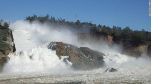 A race against the weather to avoid disaster at California's Oroville Dam