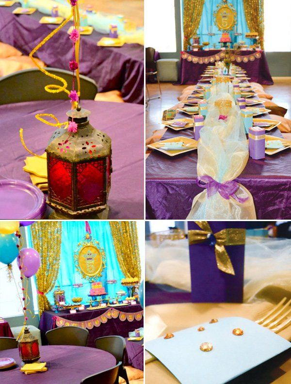 Arabian Nights/Princess Jasmine Birthday Party