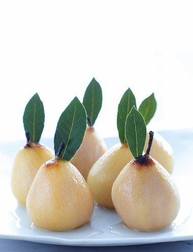 Sweet Paul's Poached Pears from Holiday Brunch with Matther Robbins!