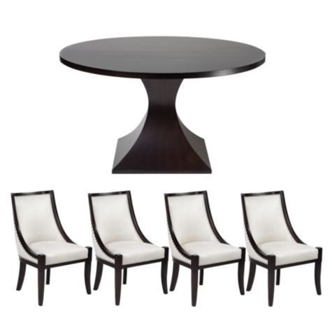 Chic Combo   Scallop Dining Collection From Z Gallerie