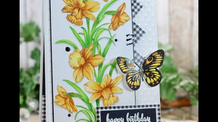 No Line Watercoloring Using Zig Clean Color Markers W/ Gina K. Designs  ...