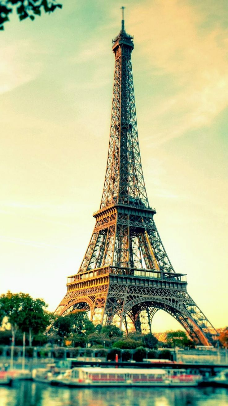 Beautiful Eiffel Tower. Pray for Paris, Pray for the World. Tap to see more beautiful places iPhone wallpapers. Travel destinations, romance city, France. - @mobile9 #prayforparis