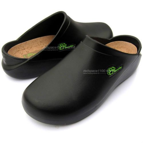 Chef Shoes Kitchen Nonslip Shoes Safety Shoes Cook Culinary School Black  Shoes | EBay