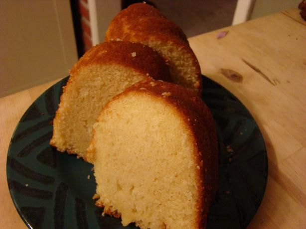 Cake - best pound cake EVER. I make this every year in my Easter lamb ...