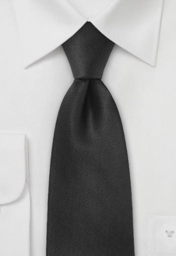 Cravatta da cerimonia in seta nera  Cravatta in pregiata seta nera intensa. Seta pura, lunghezza 148cm, larghezza 9cm