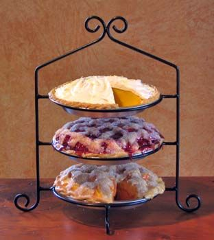 Three Tier Wrought Iron Pie Plate Rack This One Would Do Remodel For The Home In 2018 Racks