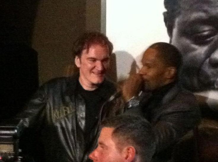Jamie Foxx and Quentin Tarantino rockin' da House!
