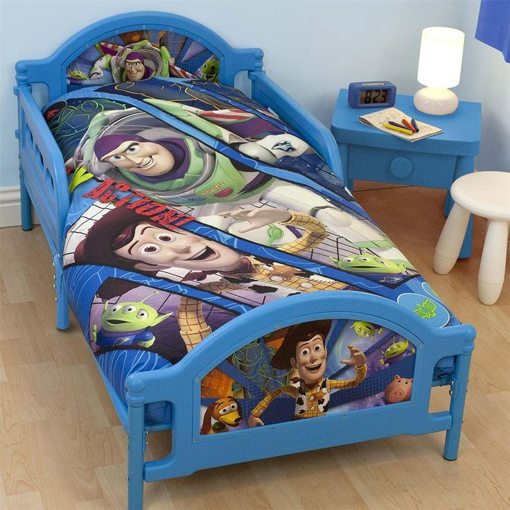 Best Toy Story Fractal Junior Toddler Bed New Buzz Lightyear 400 x 300