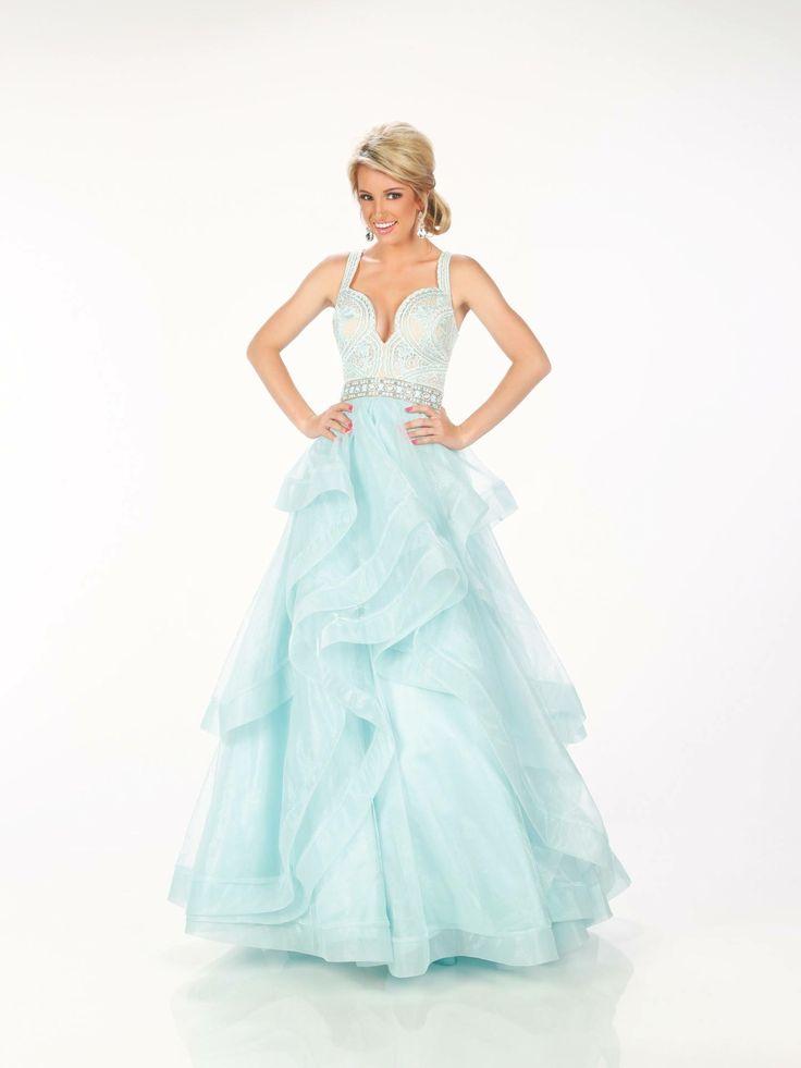 Fantastisch Singrünblau Brautjungfer Kleid Zeitgenössisch ...