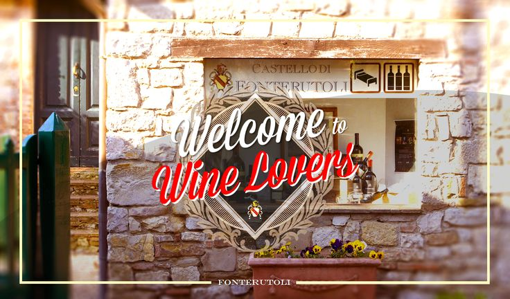 "Welcome To Wine Lovers -  ""Friends never let friends drink wine alone"". @marchesimazzei  #marchesimazzei #fonterutoli  #wine #tuscany #winestyle #winetasting #winelovers"