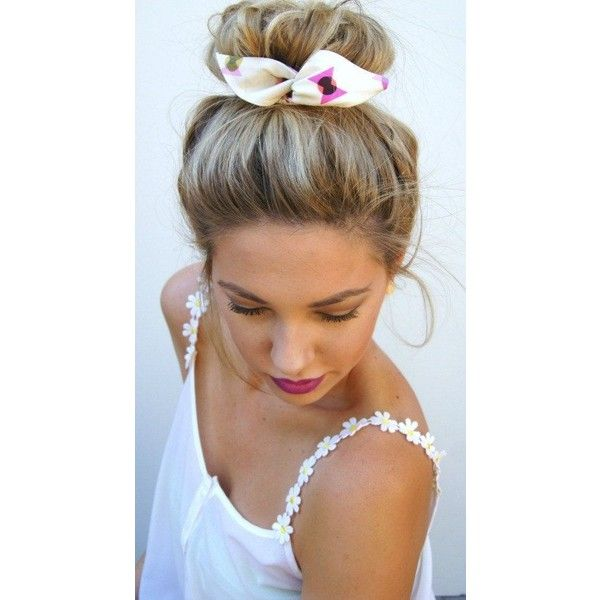"""Wire Bun Wrap Top Knot Wire Wrap """"Mini"""" Dolly Bow Wire Headband... ❤ liked on Polyvore featuring accessories, hair accessories, knotted headwrap, hair bands accessories, wire twist headband, bow headwrap and knotted headband"""