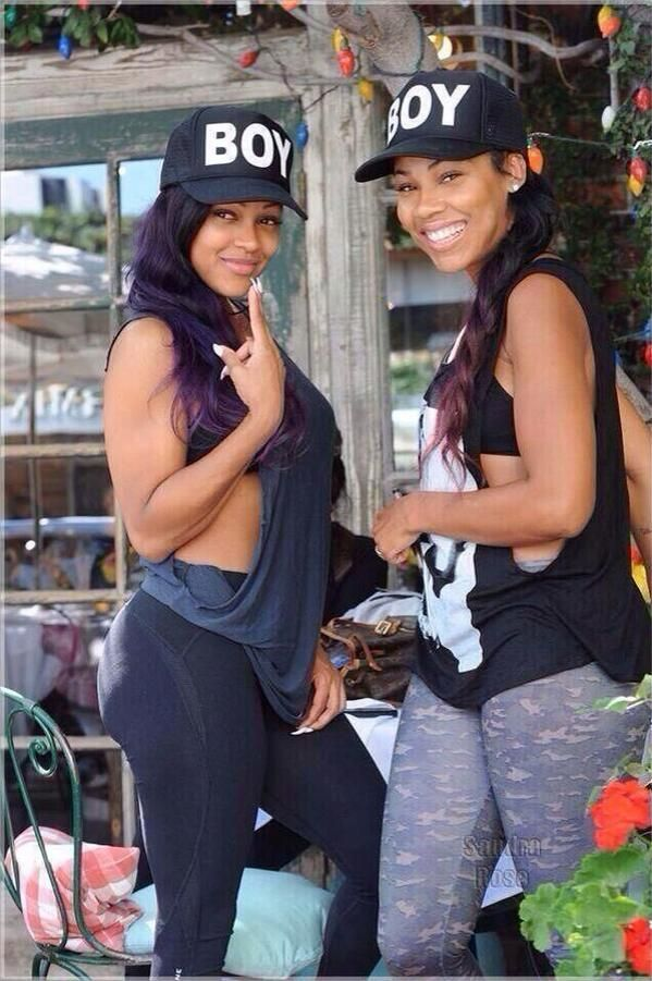 Sisters (Meagan Good & her sister)