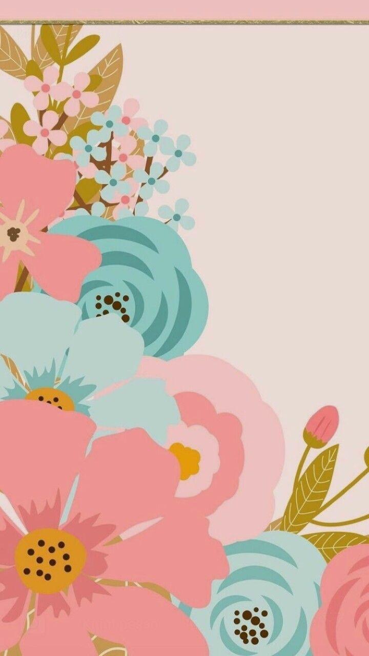 Pin By Mutiara On Wallpaper Iphone Floral Wallpaper Pink
