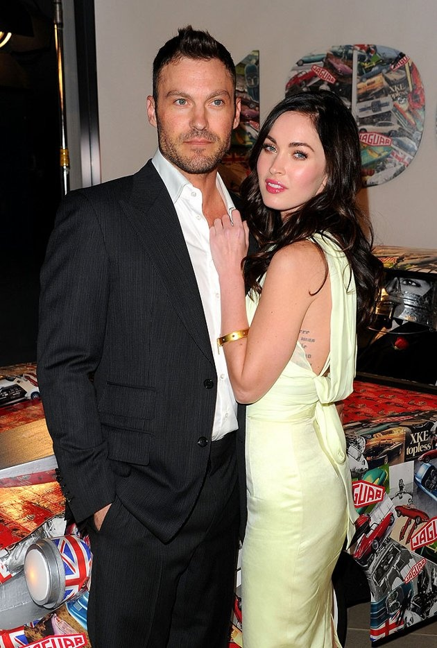 Brian Austin Green and Megan Fox - They sizzle together