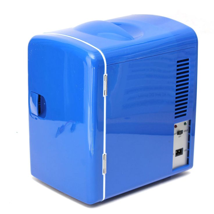 Portable Mini Fridge Freezer Cooler and Warmer Auto Boat Home Office AC& DC blue