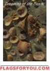 Shells Garden Flag -1 left