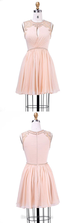 Chiffon prom dresses,short homecoming dresses,unique homecoming dresses,prom dresses for teens, princess homecoming dresses,2017 homecoming dresses