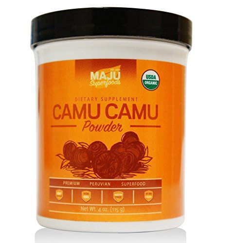 #1 Rated Organic Camu Camu Powder - 100% RAW, USDA Organic, packaged in USA by Maju Superfoods - http://mygourmetgifts.com/1-rated-organic-camu-camu-powder-100-raw-usda-organic-packaged-in-usa-by-maju-superfoods/