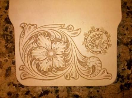 Resultado de imagen para leather carving patterns