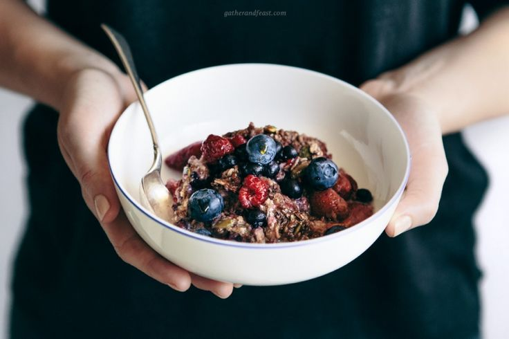 Baked Berry Oatmeal  |  Gather