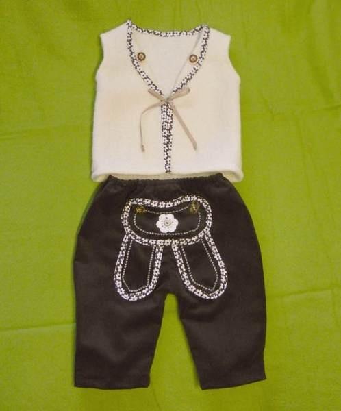 Taufanzug 2-tlg., Trachtenanzug, Lederhose Baby