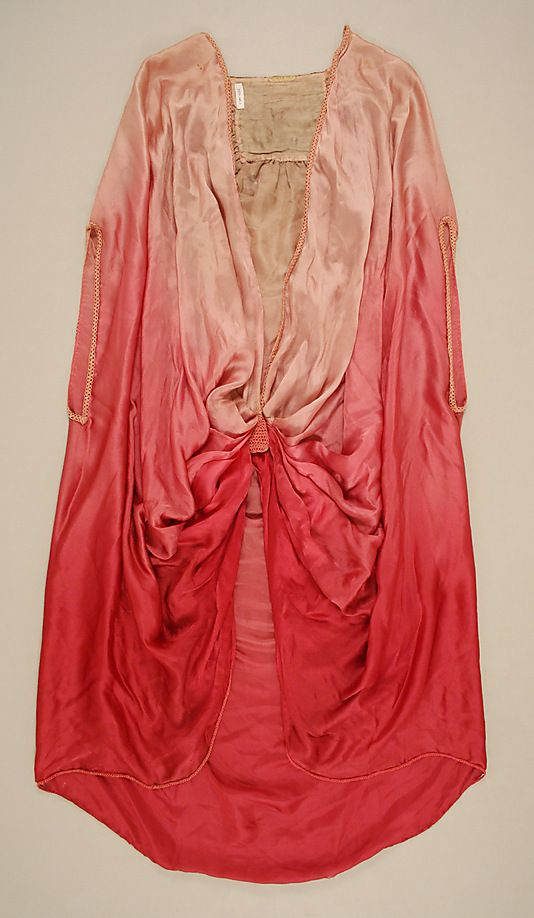 Liberty of London Cape ~ pink ombre c.1924-25