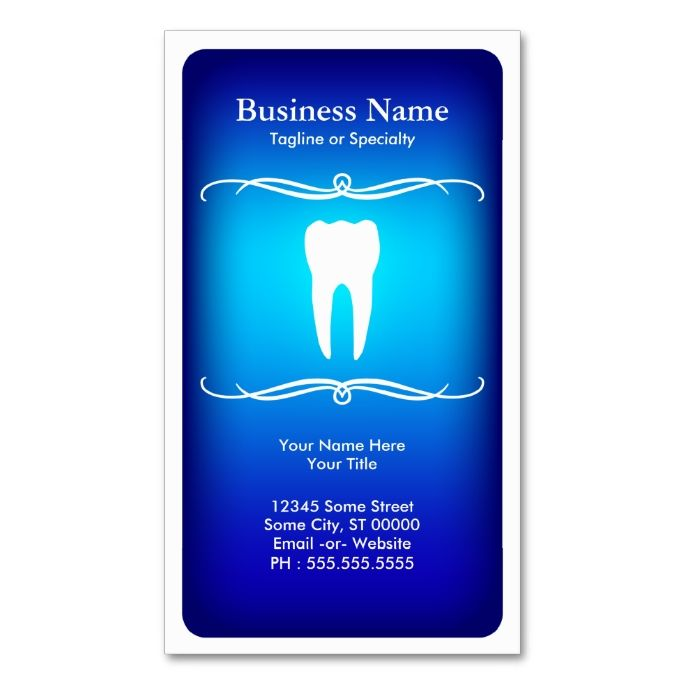 78 Best images about Dental Dentist Business Cards on