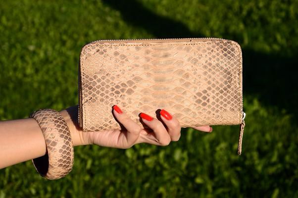 Wallet from Python leather Independence