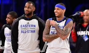 Twitter Loses Its Mind After Carmelo Anthony Sends Cryptic Tweet To LeBron James
